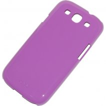 XQISIT CUSTODIA ORIGINALE COVER IPLATE GLOSSY PER SAMSUNG GALAXY S3 I9300 - NEO I9301 PURPLE