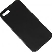 XQISIT CUSTODIA SOFTGRIP CASE APPLE IPHONE 5 - 5S - SE BLACK