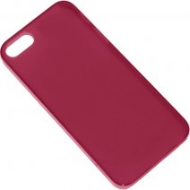 XQISIT CUSTODIA IPLATE ULTRATHIN APPLE IPHONE 5 - 5S - SE RED