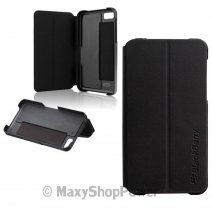 BLACKBERRY CUSTODIA ASY-49283-001 ORIGINALE BOOK COVER CASE FLIP SHELL Z10 BLACK BULK
