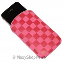 CELLULARLINE CUSTODIA SLEEVE UNIVERSALE QUADRI PINK