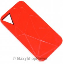 CASE-MATE CUSTODIA FACETS APPLE IPHONE 4 - 4S RED