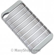 CASE-MATE CUSTODIA RIBCAGE BACK COVER APPLE IPHONE 4 - 4S GREY