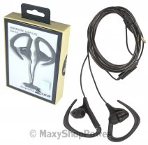 ACURA AURICOLARE CU-1300 ORIGINALE STEREO IN-EAR CON SUPPORTO ORECCHIO JACK 3,5MM BLACK /
