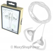 ACURA AURICOLARE CU-1300 ORIGINALE STEREO IN-EAR CON SUPPORTO ORECCHIO JACK 3,5MM  WHITE /