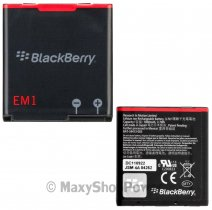 BLACKBERRY BATTERIA LITIO ORIGINALE E-M1 BULK PER 9350 - 9360 - 9370