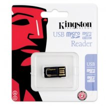 KINGSTON USB PENDRIVE MEMORY CARD MICROSD READER 2.0
