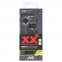 JVC AURICOLARE ORIGINALE STEREO EXTREME XPLOSIVES BASS HA-FR202-B IN-EAR BLACK /PER IOS IPHONE GALAX