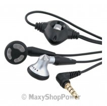 BLACKBERRY AURICOLARE ORIGINALE A FILO STEREO HDW-14322-003 JACK 3.5MM BLACK BULK /