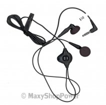 BLACKBERRY AURICOLARE ORIGINALE STEREO HDW-14322-005 JACK 3,5MM BLACK BULK /
