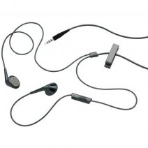 BLACKBERRY AURICOLARE ORIGINALE STEREO STYLE JACK 3.5MM BLACK BULK/
