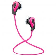 KITSOUND AURICOLARE BLUETOOTH TRAIL SPORT EARBUDS UNIVERSALE PINK /PER ANDROD IOS IPHONE MICROSOFT