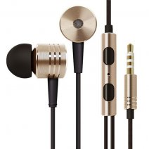 MI AURICOLARE A FILO STEREO SUPER BASS HEADPHONES IN-EAR JACK 3,5MM UNIVERSALE GOLD /