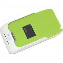 MILI POWER PACK BATTERIA EMERGENZA APPLE IPHONE 3G / 3GS VERDE CONTORNO BIANCO