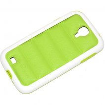 PULOKA CUSTODIA HARD COVER PER SAMSUNG GALAXY S4 I9500 - I9505 GREEN