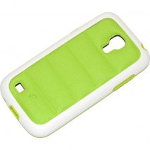 PULOKA CUSTODIA HARD COVER PER SAMSUNG GALAXY S4 MINI I9190 - I9195 GREEN