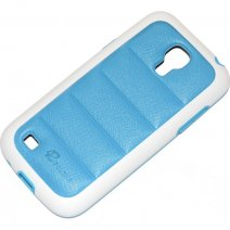 PULOKA CUSTODIA HARD COVER PER SAMSUNG GALAXY S4 MINI I9190 - I9195 LIGHT BLU