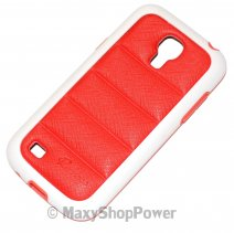 PULOKA CUSTODIA HARD COVER PER SAMSUNG GALAXY S4 MINI I9190 - I9195 RED