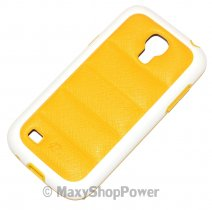 PULOKA CUSTODIA HARD COVER PER SAMSUNG GALAXY S4 MINI I9190 - I9195 YELLOW