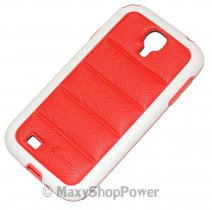 PULOKA CUSTODIA HARD COVER PER SAMSUNG GALAXY S4 I9500 - I9505 RED