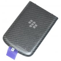 BLACKBERRY COVER POSTERIORE ORIGINALE COPRIBATTERIA PER Q10 BLACK