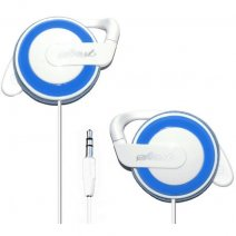 START AURICOLARE STEREO PROFESSIONAL HEADPHONES JACK 3,5MM UNIVERSALE WHITE / BLU