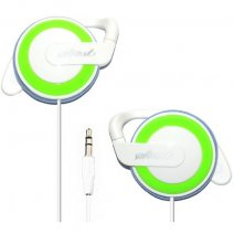 START AURICOLARE STEREO PROFESSIONAL HEADPHONES JACK 3,5MM UNIVERSALE WHITE / GREEN