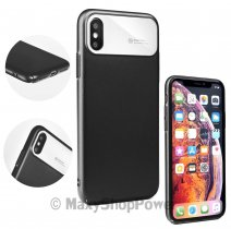ROAR CUSTODIA ORIGINALE ECHO ULTRA PER APPLE IPHONE X - XS BLACK
