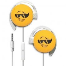 START AURICOLARE A FILO STEREO SMILE-02 HEADPHONES JACK 3,5MM UNIVERSALE PER MUSICA YELLOW /