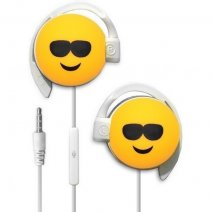 START AURICOLARE A FILO STEREO SMILE-03 HEADPHONES JACK 3,5MM UNIVERSALE PER MUSICA YELLOW /
